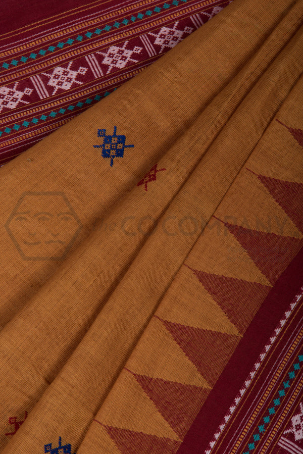 Traditional Dhalapathar Extra Weft Saree