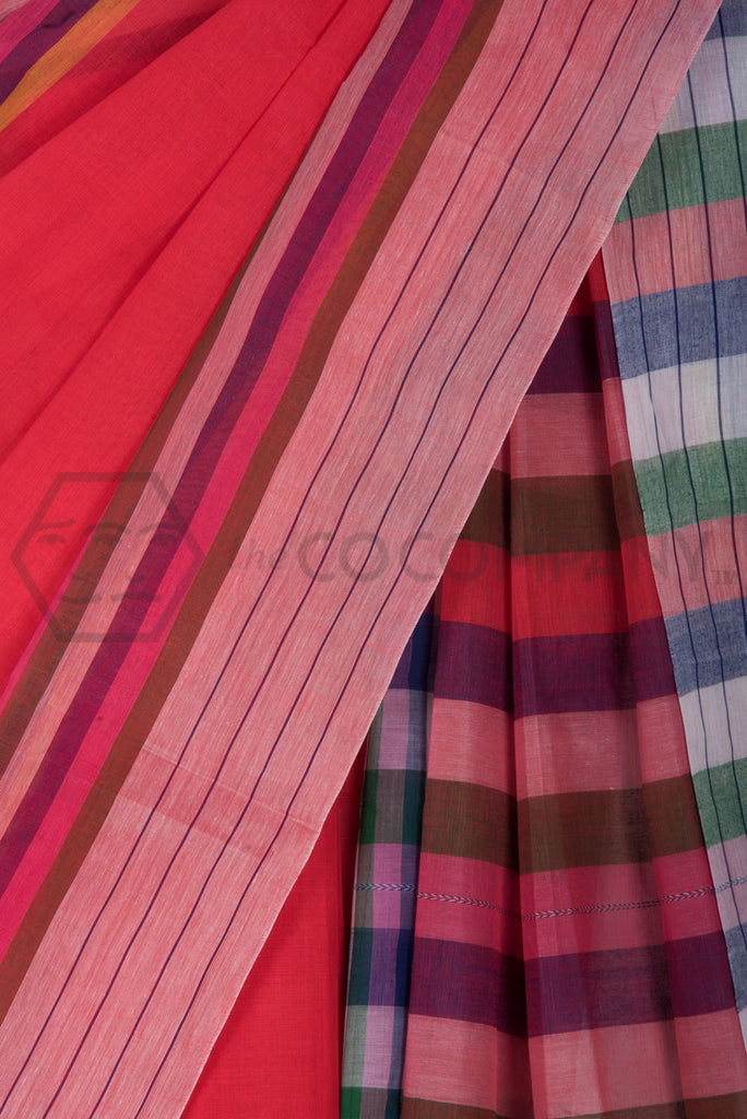 Dhaniakhali Cotton Saree