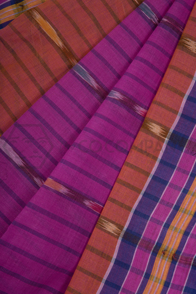 Rani Cotton Tie Dye Saree