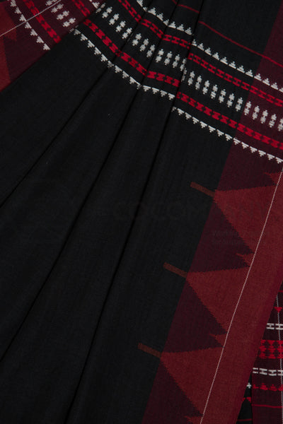 Black Kotpad Saree