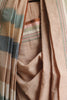 Beige Striped Natural Dyes Irkal Saree