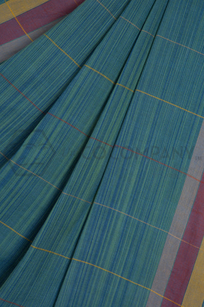 Uneven Stripes Bhujodi Saree