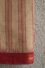 Cream Khadi Saree