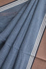 Blue Checkered Natural Dyes Irkal Saree
