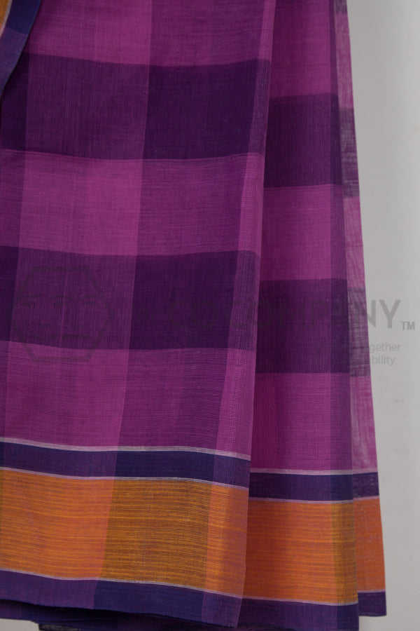 Big Checks Dhaniakhali Saree
