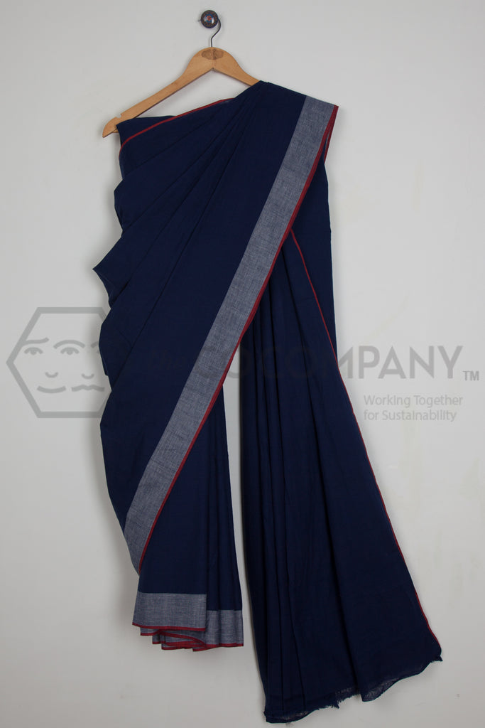 Fine Blue Saree