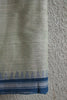 Grey Green Khadi Saree