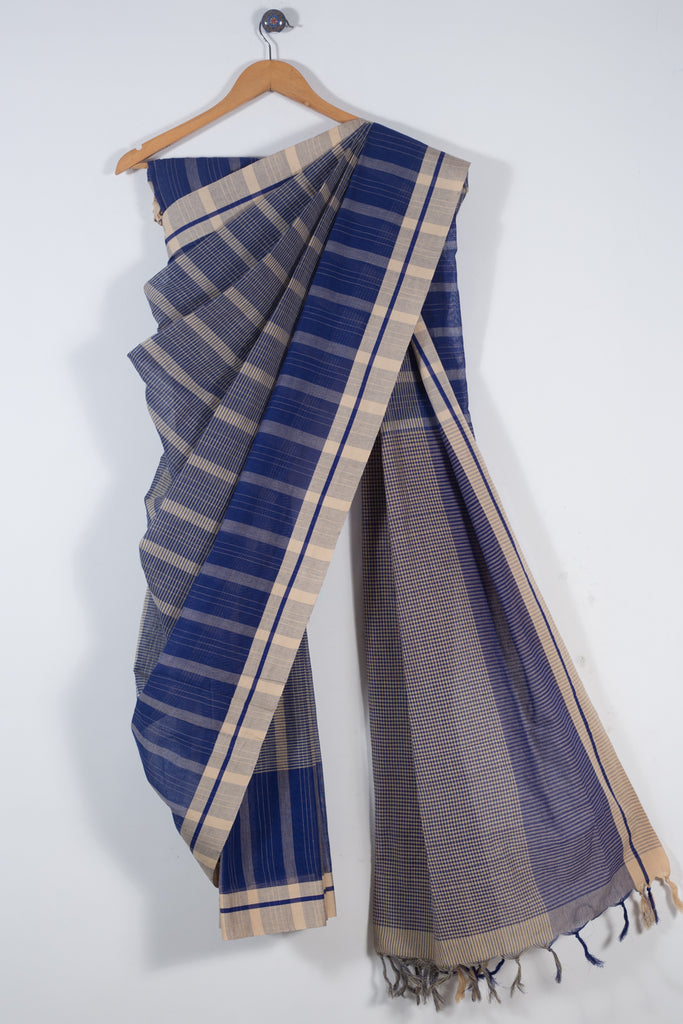Checks Cotton Saree