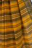 Yellow Dobby Border Cotton Saree