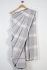 Stripe Checks Cotton Saree