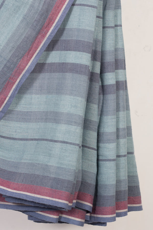 Striped Cotton Saree