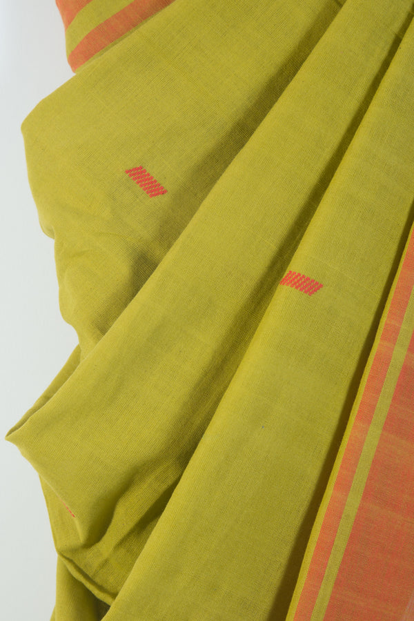 Mint Green Assam Saree