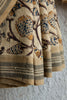 Kora Saree with Pineapple Lotus Kalamkari