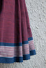 Plum Cotton Saree
