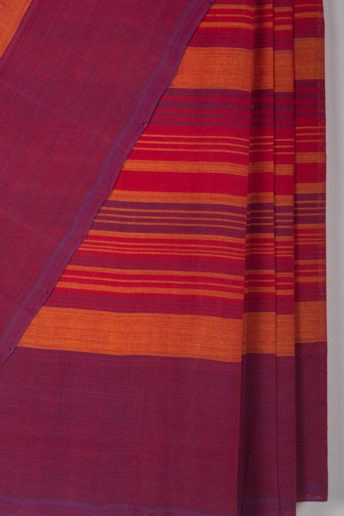 Striped Mangalgiri Saree