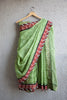 Green Kota Doria Saree