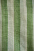Green and White Striped Saree