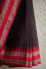 Black Striped Saree