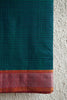 Dark Green Mangalgiri Saree