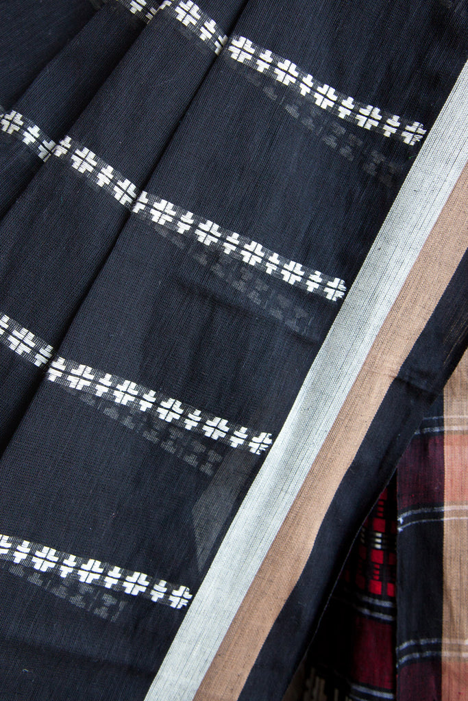 Black Begumpuri Saree