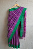 Purple Begumpuri Saree