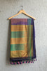 Golden Purple Dhoop Chaav Irkal Saree