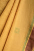 Green Squares on Yellow Saree