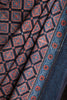 Square Ajrakh Print Cotton Saree