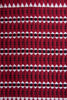 Maroon Striped Koraput Saree