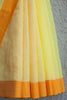 Yellow Orange Saree