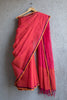 Bright Pink Saree