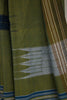 Blue Green Bands Irkal Saree