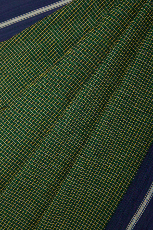Green Checkered Pateda Anchu