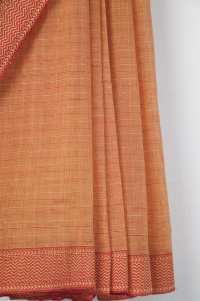 Small Checks Saree