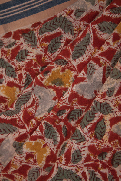 Butterflies Print on Red Base