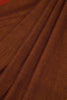 Brown Khadi Saree