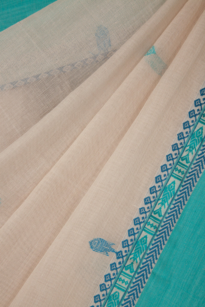 Jaamdani Fish Saree