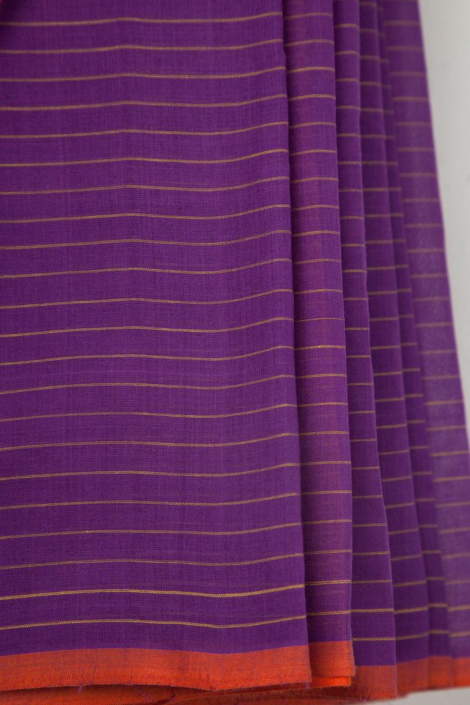 Pink Purple Half n Half Saree