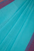 Cyan Blue Saree