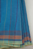 Light Blue Bhujodi Saree