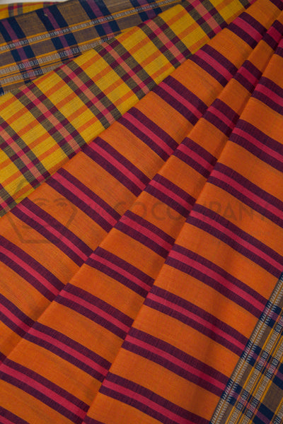 Colorful Irkal Saree