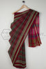 Dhoop Chaav Green Red Saree