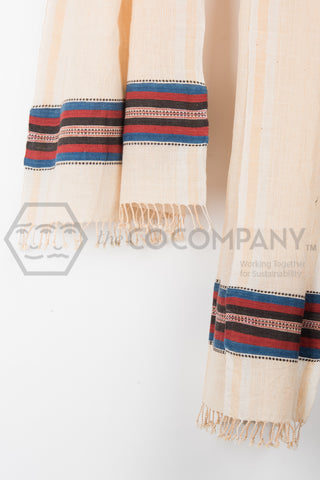 Pinstriped Kala Cotton Stole