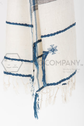 Striped Kala Cotton Stole