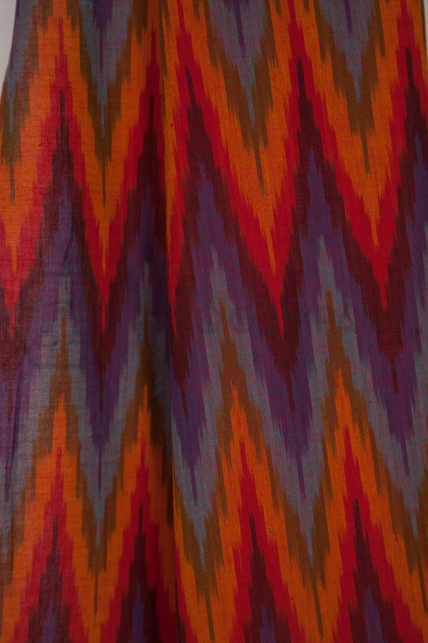Colorful Ikat Stole