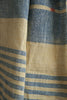 Light Blue and Light Yellow Kala Cotton Stole