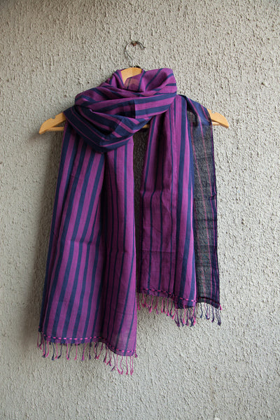 Blue Pink Stole