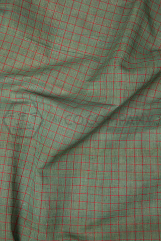 Natural Dye Checkered Fabric (per meter)