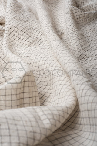 Small Checks Kala Cotton Fabric (per meter)