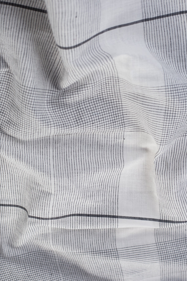 Stripe Checks Cotton Fabric (per meter)